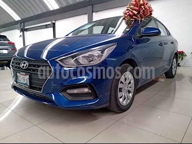 Hyundai Accent 4p GL L4/1.6 Aut usado (2018) color Azul precio $197,000