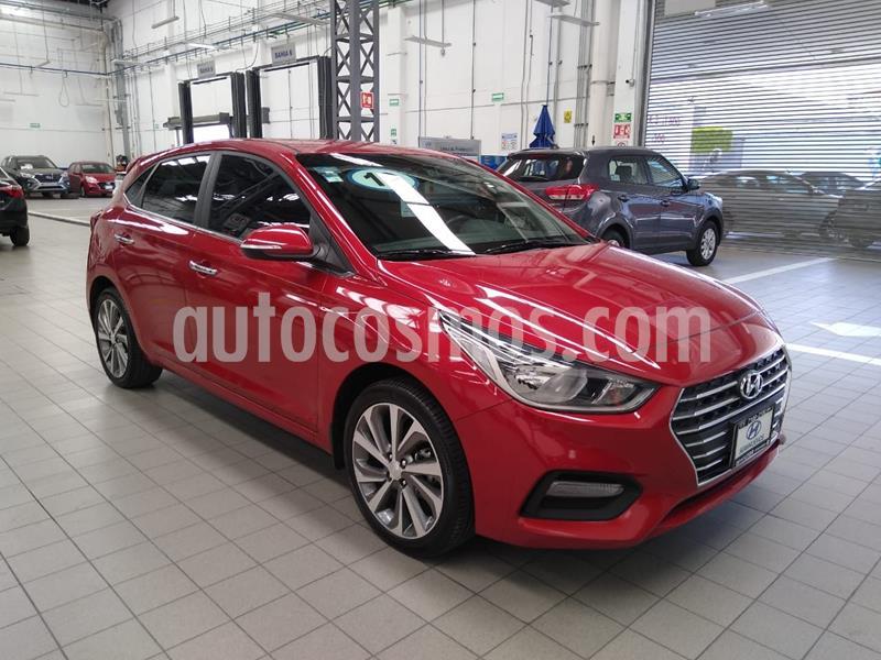 Hyundai Accent HB GLS Aut usado (2019) color Rojo precio $265,000