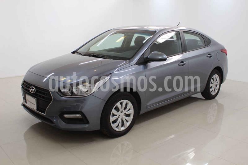 Hyundai Accent GL Aut usado (2020) color Gris precio $219,000