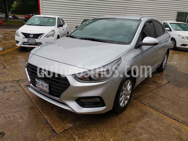 Hyundai Accent GL Mid usado (2020) color Plata precio $250,000