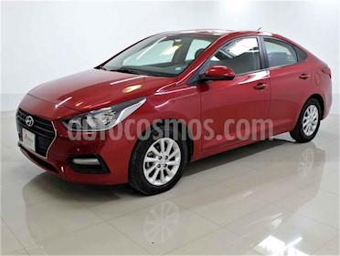 Hyundai Accent 4p GL L4/1.6 Aut usado (2018) color Rojo precio $179,000