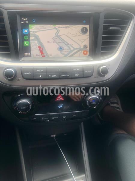 Hyundai Accent GLS Aut usado (2019) color Rojo precio $234,000