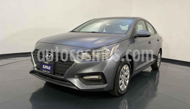 Hyundai Accent GL Aut usado (2018) color Gris precio $224,999