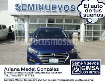 Hyundai Accent GL Aut usado (2018) color Azul Marino precio $235,000