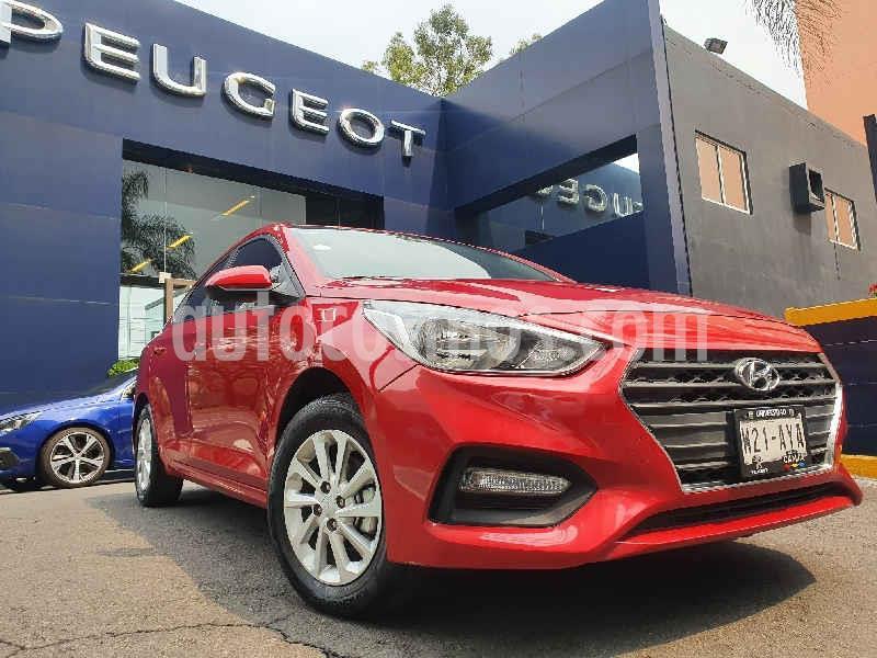 Hyundai Accent GL usado (2018) color Rojo precio $184,900