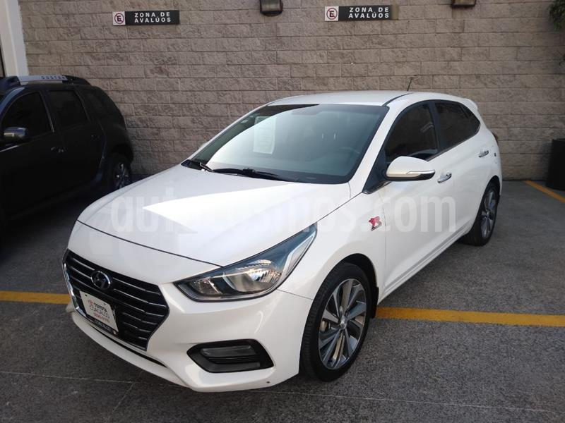 Hyundai Accent HB GLS Aut usado (2018) color Blanco precio $220,000