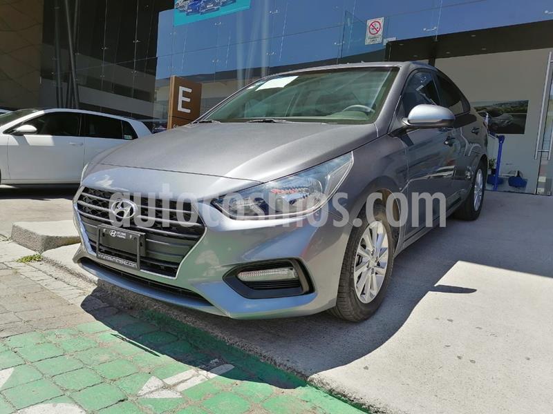 Hyundai Accent GL Mid usado (2018) color Gris precio $198,000