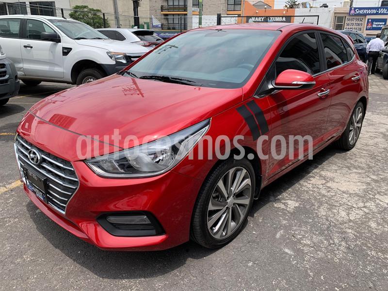 Hyundai Accent HB GLS Aut usado (2019) color Rojo precio $224,500