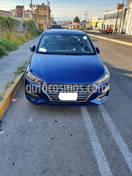 Hyundai Accent HB GLS Aut usado (2019) color Azul precio $250,000