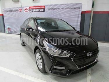Hyundai Accent GL Aut usado (2019) color Negro precio $240,000