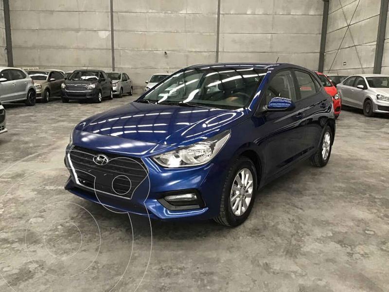 Foto Hyundai Accent HB GL Mid usado (2018) color Azul precio $115,000