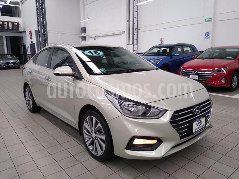 Hyundai Accent GLS Aut usado (2018) color Beige precio $235,000