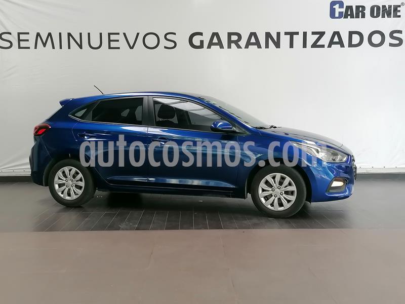 Hyundai Accent GL Aut usado (2018) color Azul precio $184,900