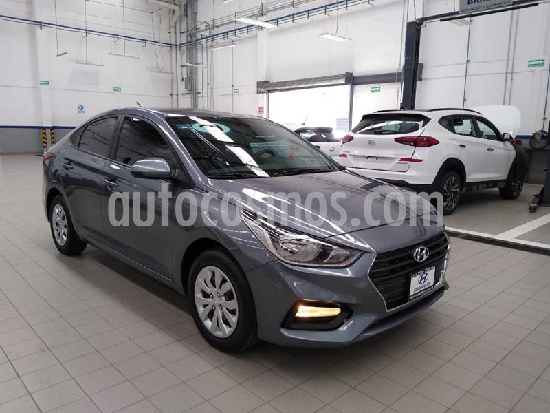 Hyundai Accent GL Aut usado (2019) color Gris Oscuro precio $210,000