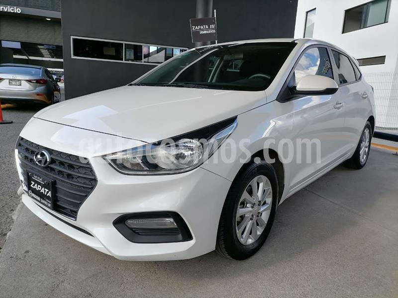 Hyundai Accent HB GL Mid usado (2020) color Blanco precio $225,000