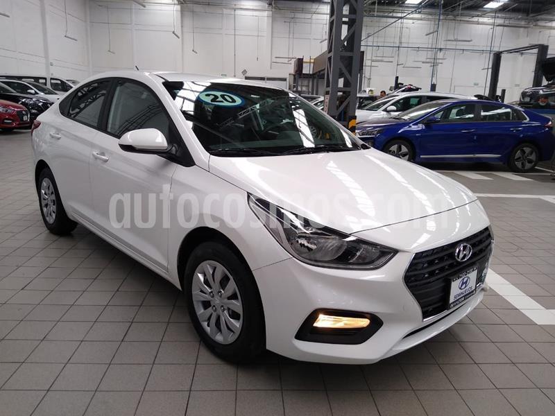 Hyundai Accent GL Aut usado (2020) color Blanco precio $225,000