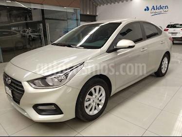Hyundai Accent 4p GL Mid  L4/1.6 Man usado (2019) color Blanco precio $227,000