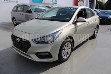Hyundai Accent 4p GL L4/1.6 Aut usado (2018) color Beige precio $179,000
