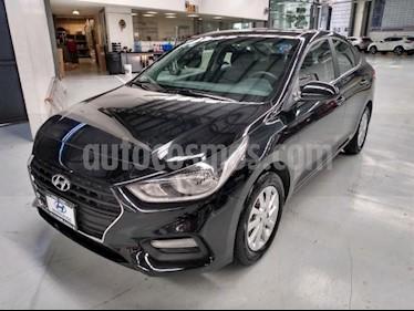 Hyundai Accent 4P GL MID 1.6L TM6 A/AC. VE DEL. CAMARA REVERSA R usado (2019) color Negro precio $225,000