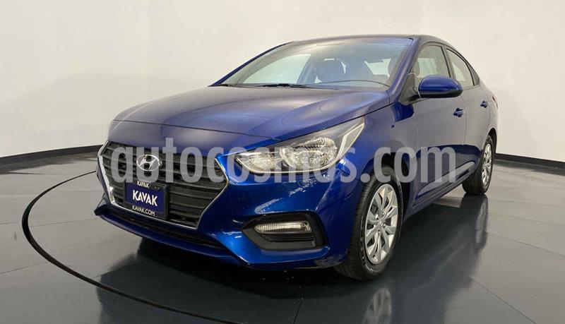 Hyundai Accent GL Aut usado (2018) color Azul precio $212,999
