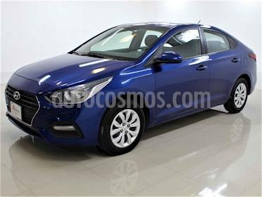 Hyundai Accent 4p GL L4/1.6 Aut usado (2018) color Azul precio $179,000