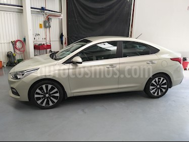 Hyundai Accent GLS Aut usado (2018) color Champagne precio $221,000