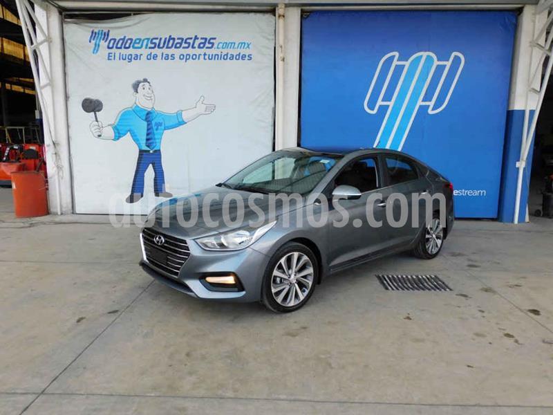 Hyundai Accent HB GLS Aut usado (2020) color Gris precio $196,000