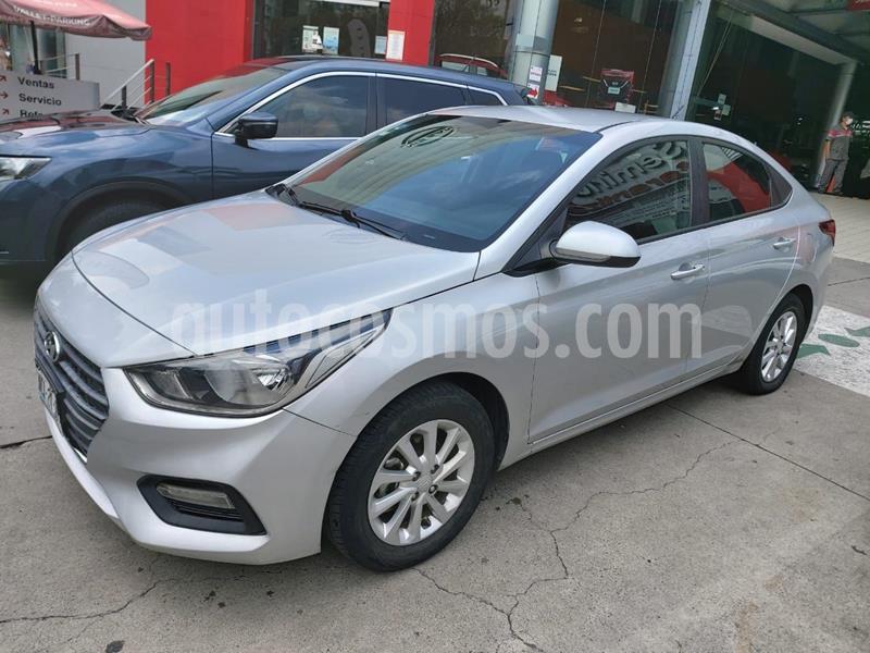 Hyundai Accent GL Mid usado (2018) color Plata Dorado precio $169,900