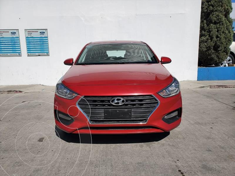 Foto Hyundai Accent HB GL Mid usado (2018) color Rojo precio $200,000