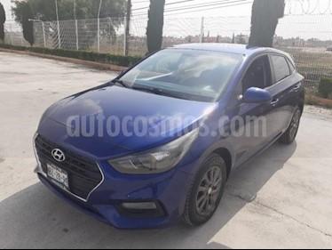 Hyundai Accent 5P HB GL MID 1.6L AT A/AC. VE DEL. CAMARA REVERSA usado (2018) color Azul precio $200,000