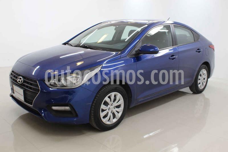 Hyundai Accent GL Mid usado (2019) color Azul precio $199,000