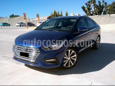 Foto Hyundai Accent GLS Aut usado (2018) color Azul precio $218,000