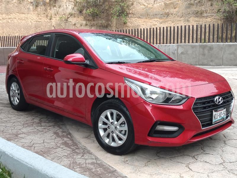 Hyundai Accent HB GL Mid Aut usado (2018) color Rojo precio $198,000