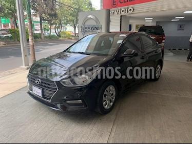 Hyundai Accent GL Aut usado (2018) color Negro precio $195,000