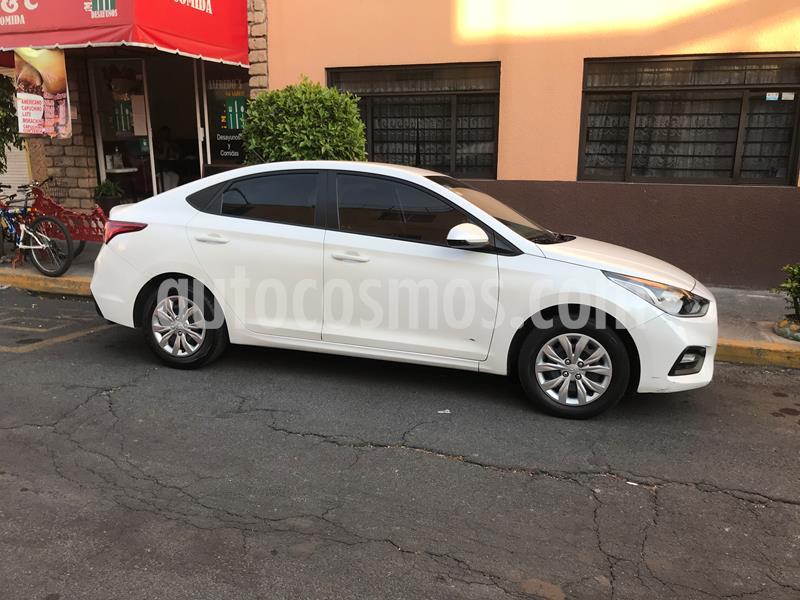 Hyundai Accent GL usado (2018) color Blanco precio $165,000