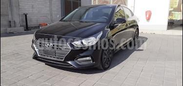 Hyundai Accent GL Aut usado (2018) color Negro precio $220,000