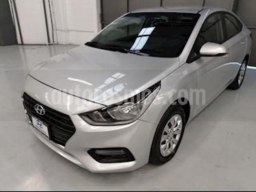 Foto Hyundai Accent 4P GL L4/1.6 MAN usado (2018) color Plata precio $210,000