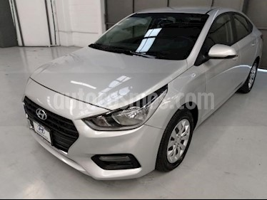 Hyundai Accent 4P GL L4/1.6 MAN usado (2018) color Plata precio $205,000