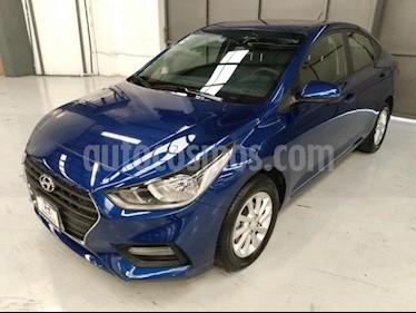 Hyundai Accent 4P GL MID 1.6L AT A/AC. VE DEL. CAMARA REVERSA RA usado (2019) color Azul precio $240,000