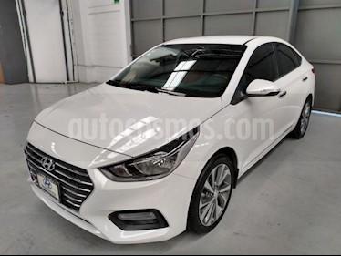 Hyundai Accent 4P GLS L4/1.6 AUT usado (2018) color Blanco precio $260,000