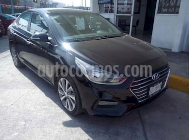 Hyundai Accent GLS Aut usado (2018) color Negro precio $249,000