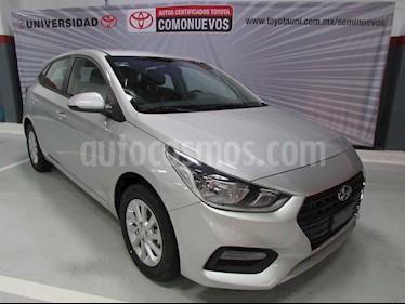 Hyundai Accent HB GL Mid Aut usado (2019) color Plata precio $272,600
