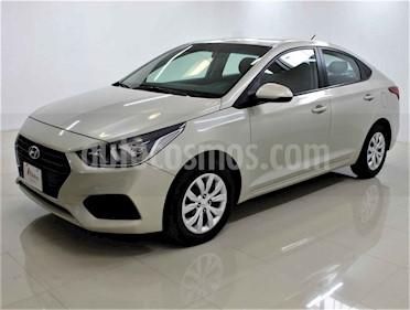 Hyundai Accent 4p GL L4/1.6 Aut usado (2018) color Dorado precio $179,000