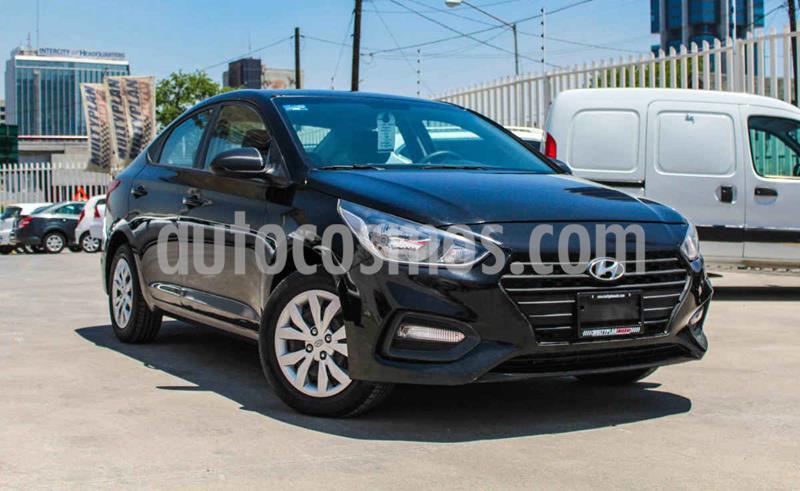 Hyundai Accent GL usado (2018) color Negro precio $179,000