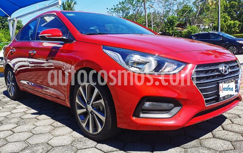 Hyundai Accent GLS Aut usado (2020) color Rojo precio $260,000