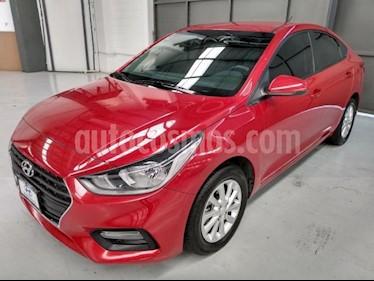 Hyundai Accent 4P GL MID L4/1.6 AUT usado (2018) color Rojo precio $230,000