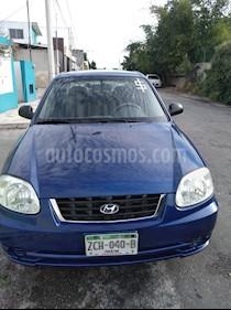 Hyundai Accent GL usado (2005) color Azul precio $46,000