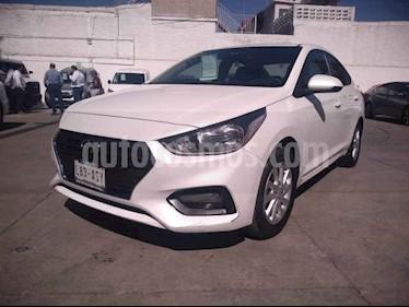 Foto Hyundai Accent GL Mid usado (2018) color Blanco precio $219,000