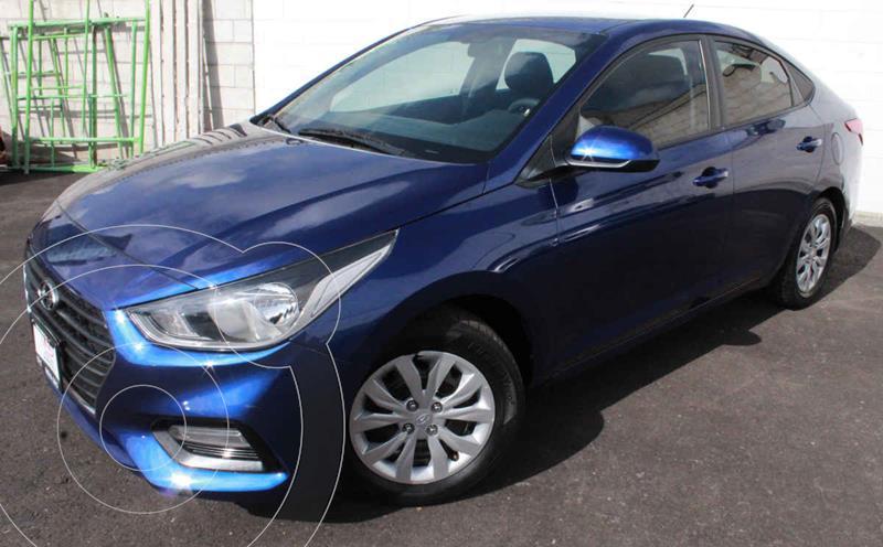 Foto Hyundai Accent GL usado (2019) color Azul precio $223,000
