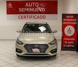 Hyundai Accent GLS Aut usado (2018) color Champagne precio $219,000